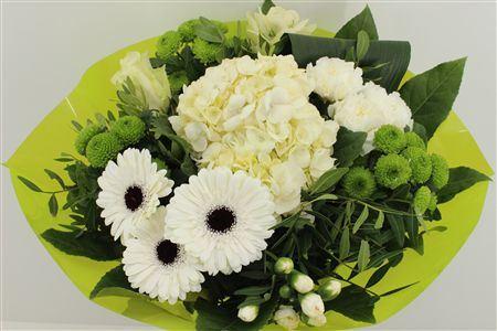 Bouquet with White Hydrangea